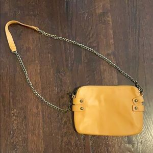 Forever 21 Mustard Crossbody Purse